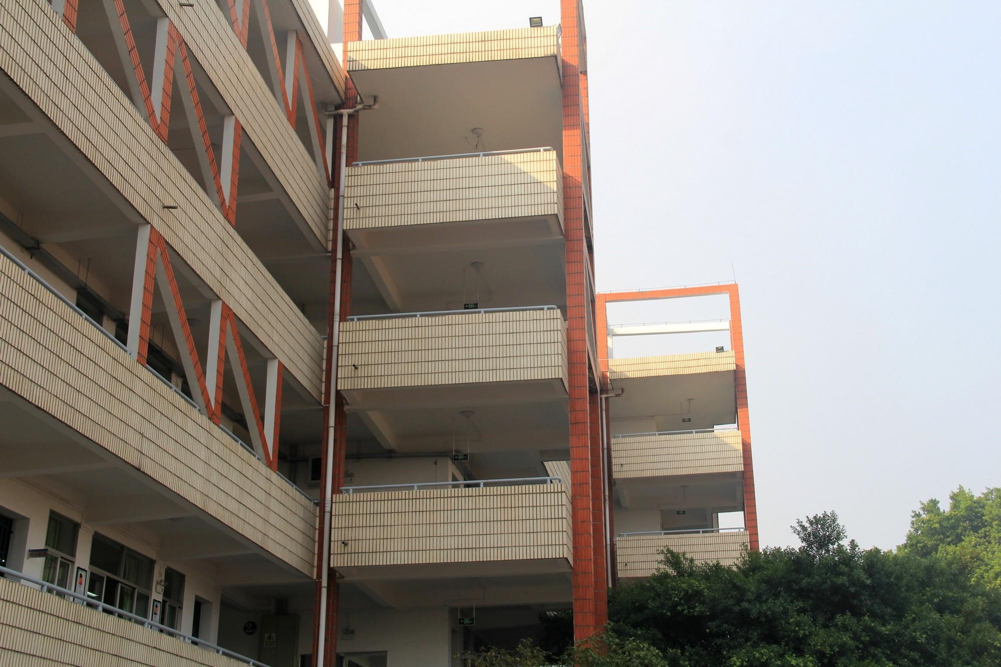 教学楼一角